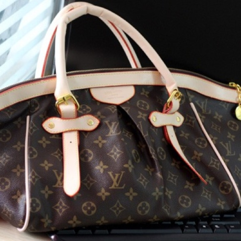 LV inspired. Oversized monogram tote satchel (HOT) **Free Shipping**