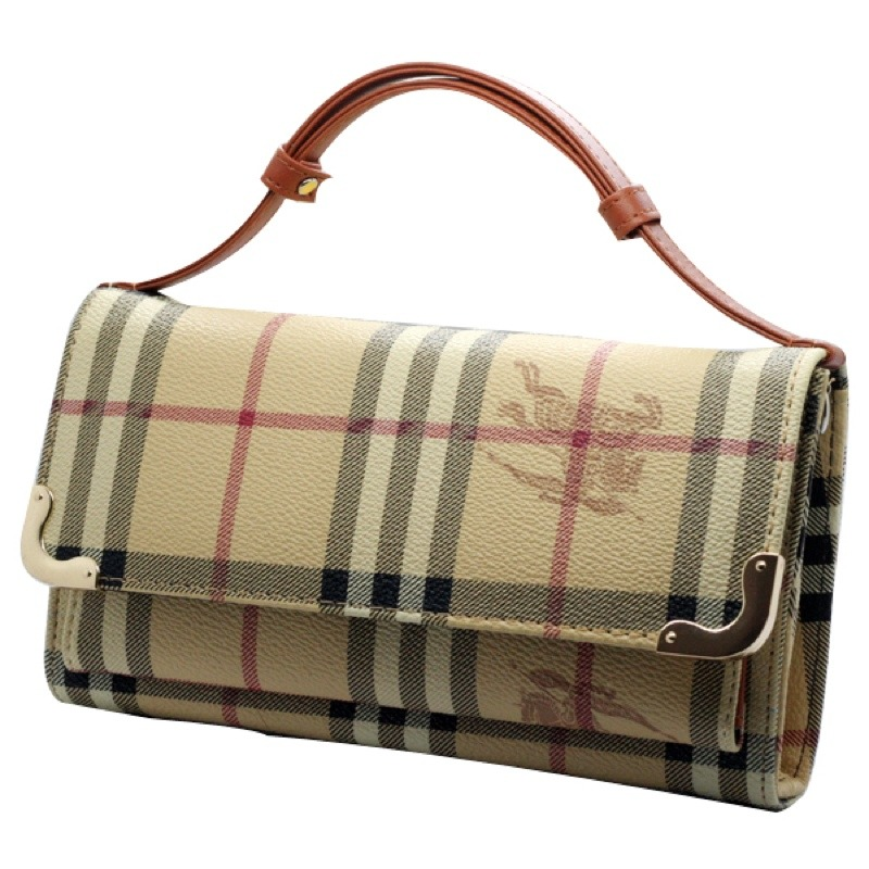 Burberry inspired. Handbag/wallet clutch/shoulder bag  ***HOT***