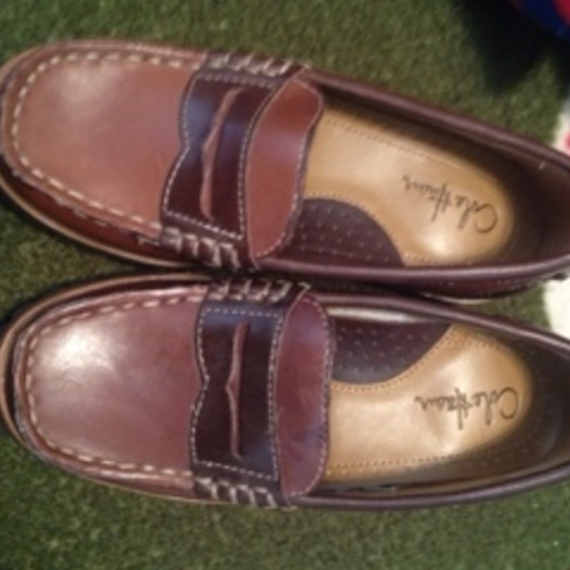 Cole Haan leather loafers toddler size 9.5