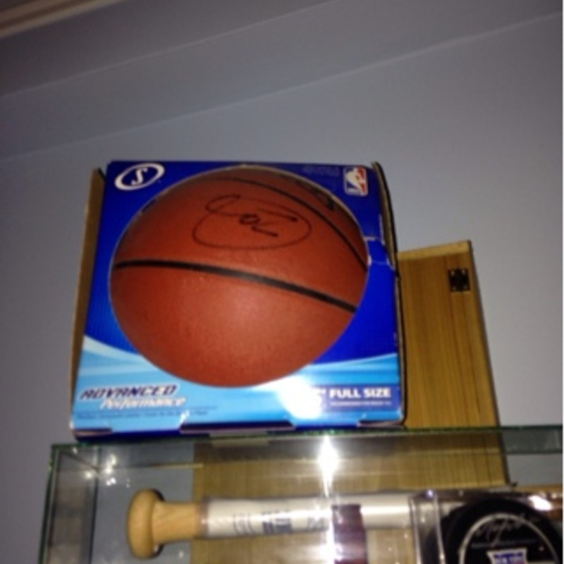 Lebron James signed ball