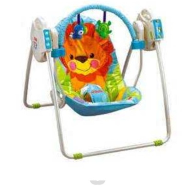 Fisher price travel swing