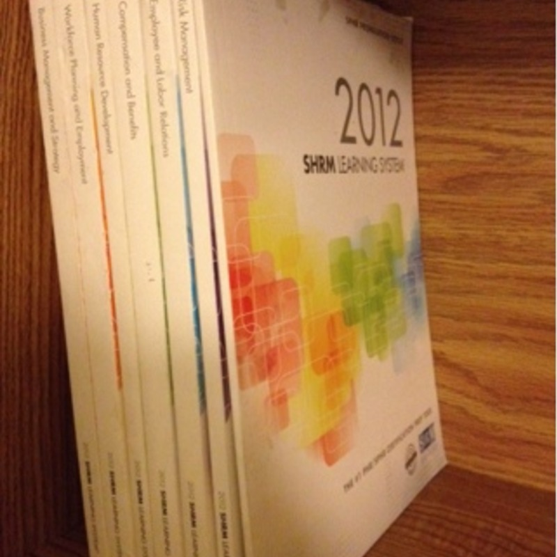 SHRM Learning Books 2012