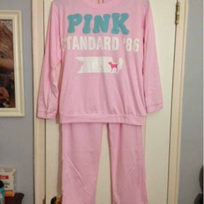 Pink pajama set- Size Small Brand New