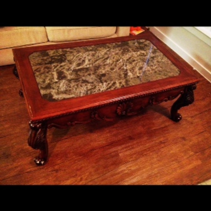 Marble Coffee Table - Ashley Furniture