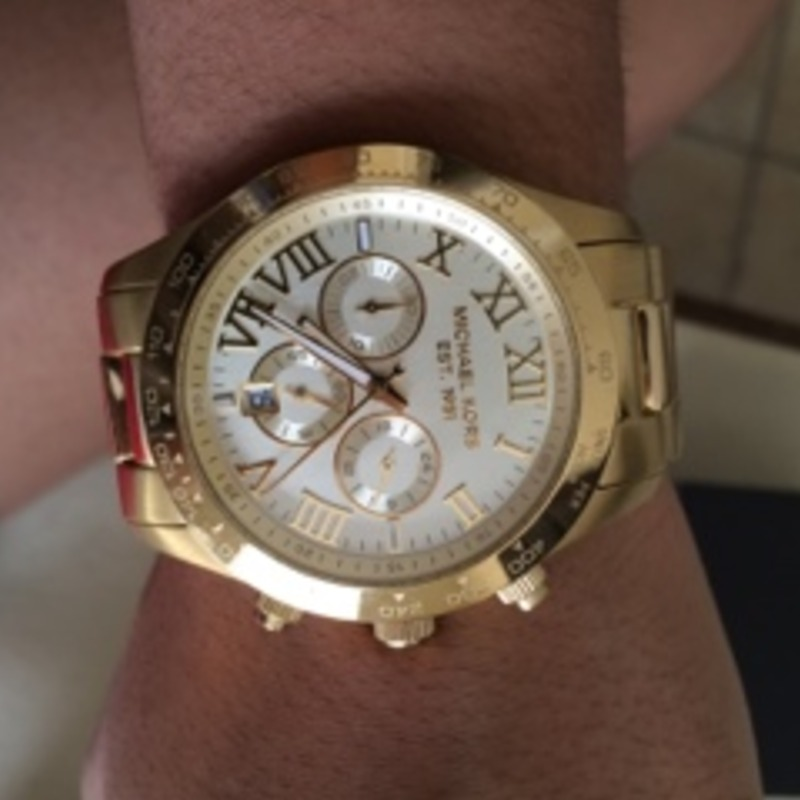 All Gold Michael Kors Watch