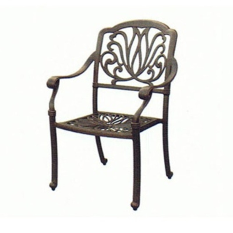 Garden outdoor chair Elisabeth