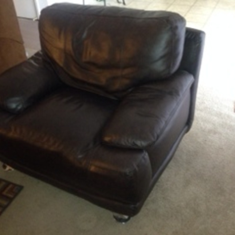 Brown Lazy Boy Chair