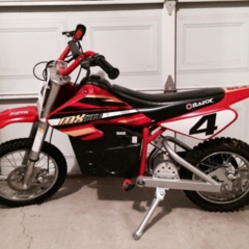 Razor MX 500 Dirt Rocket Electric Motocross Bike