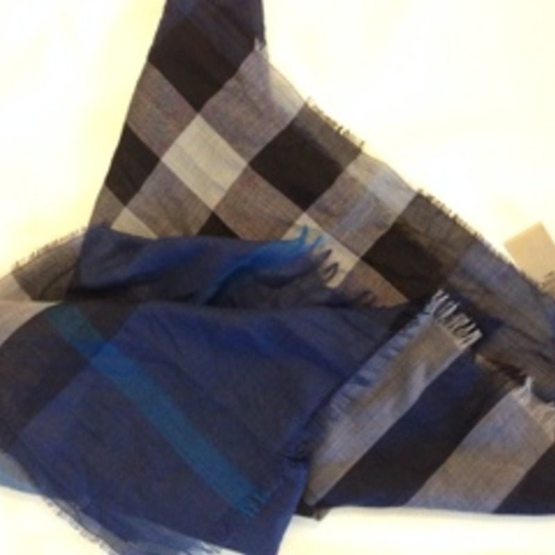 Authentic burberry giant check scarf