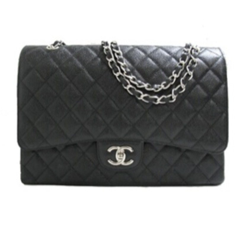 Chanel caviar maxi double flap