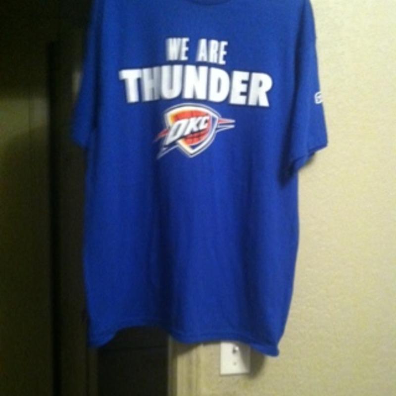 NBA okc thunder t shirt