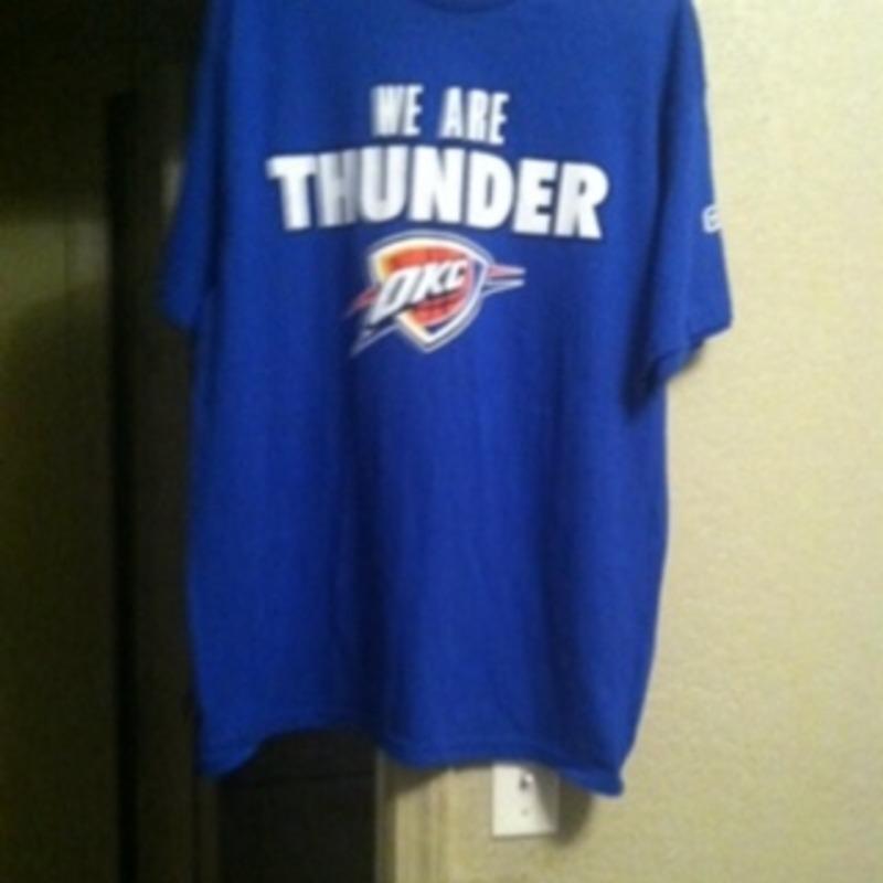 Nba official okc thunder tee shirt