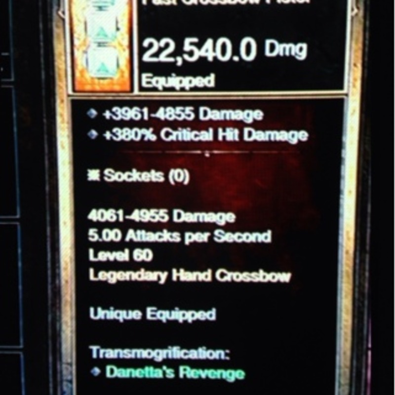 Diablo 3 ps4 professional Russian bow