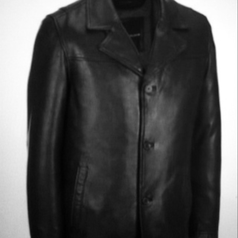 Wilson hipster leather jacket with thinsulate lining
