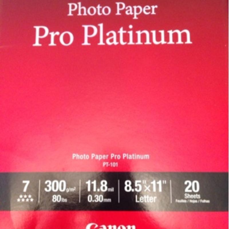 photo paper pro platinum