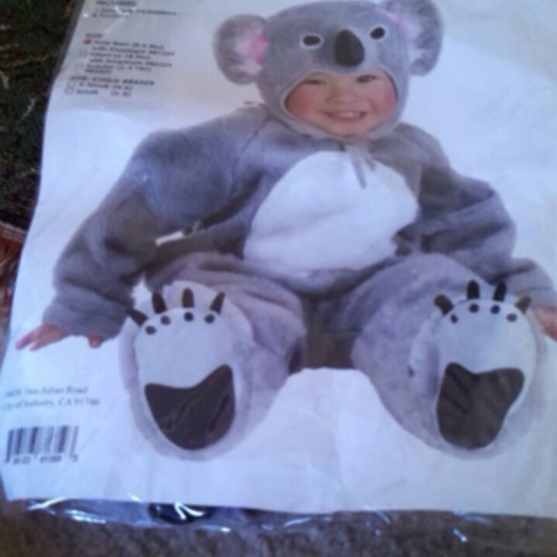 Infant (0-6 months) Koala Bear Costume