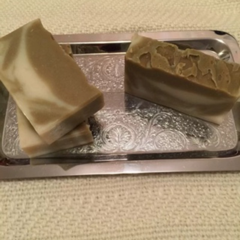 3x Eucalyptus spearmint handmade cold process-72% olive oil soap