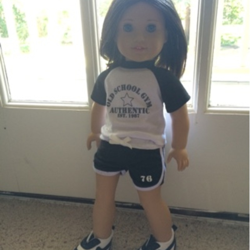 Soccer Outfit for American Girl Doll