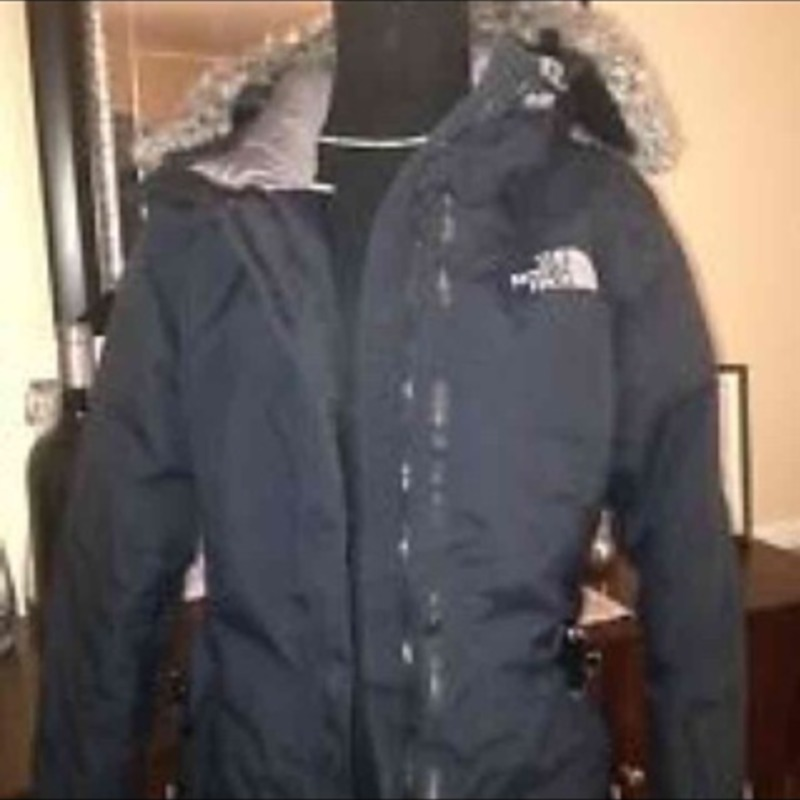 North face coat medium
