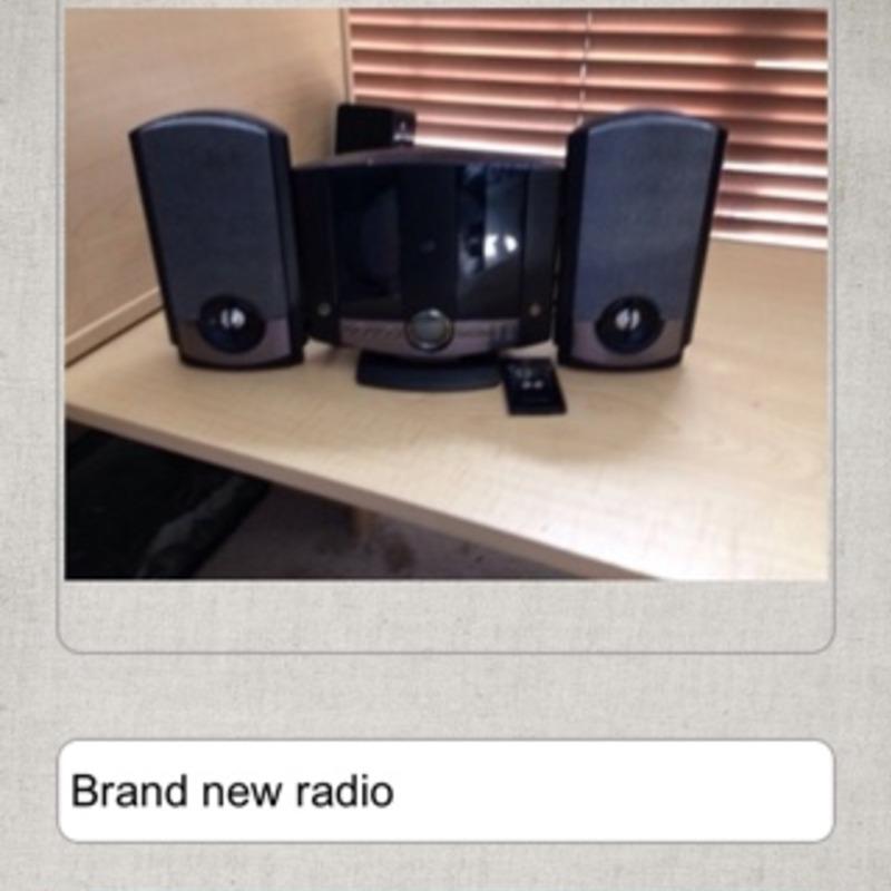 Radio brand new