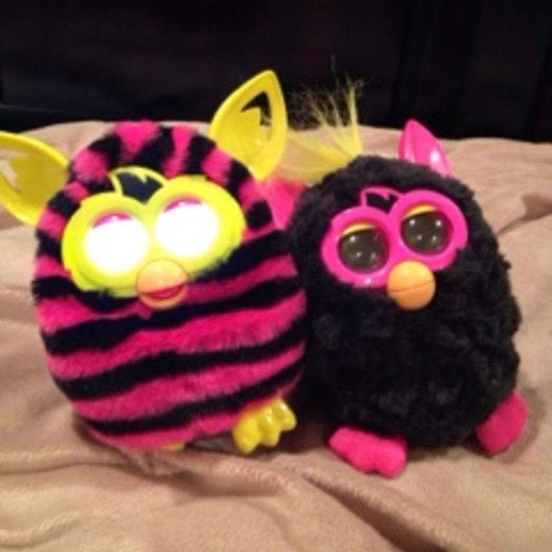 Furby boom and reg Furby