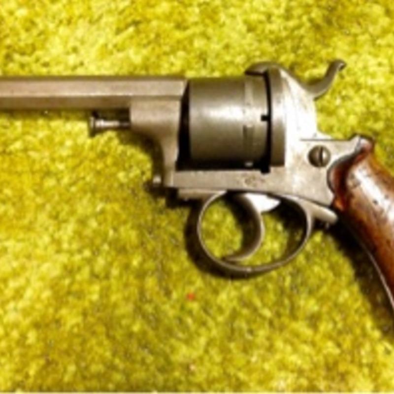 Antique Pinfire Revolver 7mm L* ELG (Civil War Era)