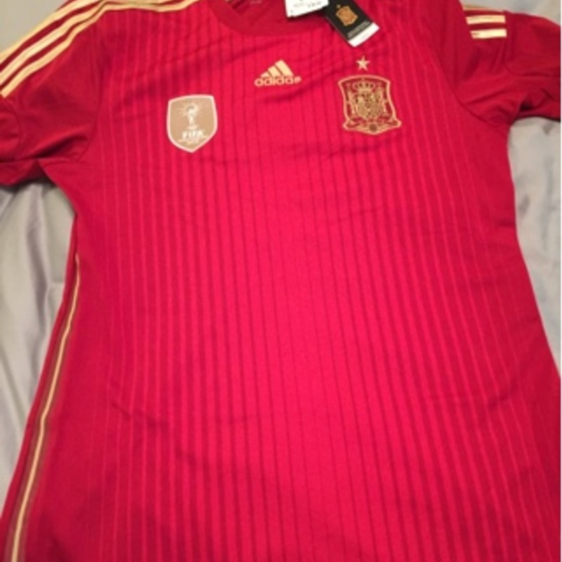 Spain soccer jersey - 2010 World Cup