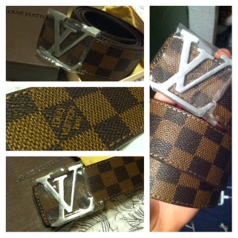Authentic Louis Vuitton belt
