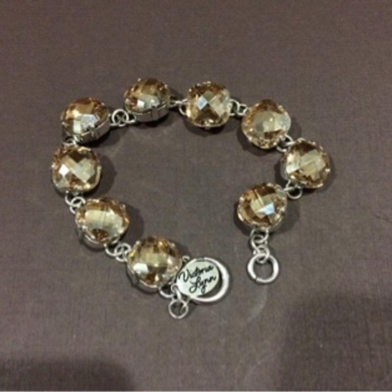 Victoria Lynn Swarovski bracelet