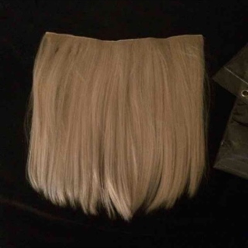 Halo crown hair extensions
