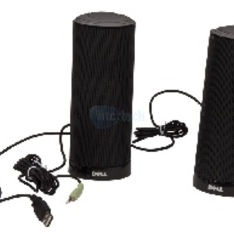 NEW IN BOX - R125K - Multimedia Speakers For Dell Computers
